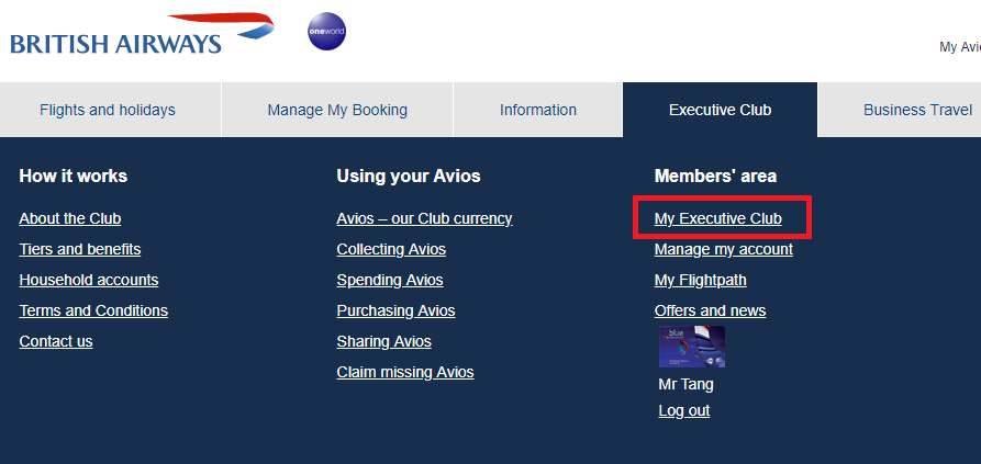 canadiantraveltips-british airways search