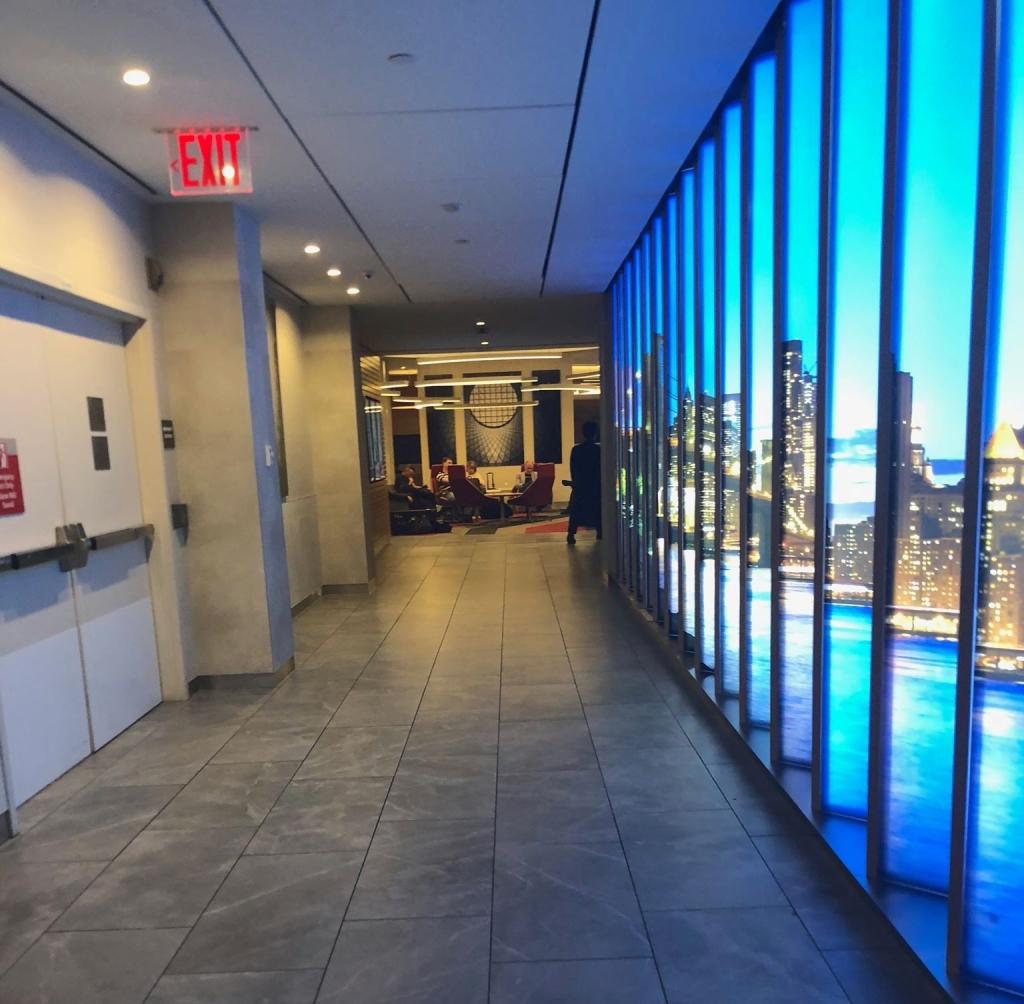 JFK flagship lounge entrance