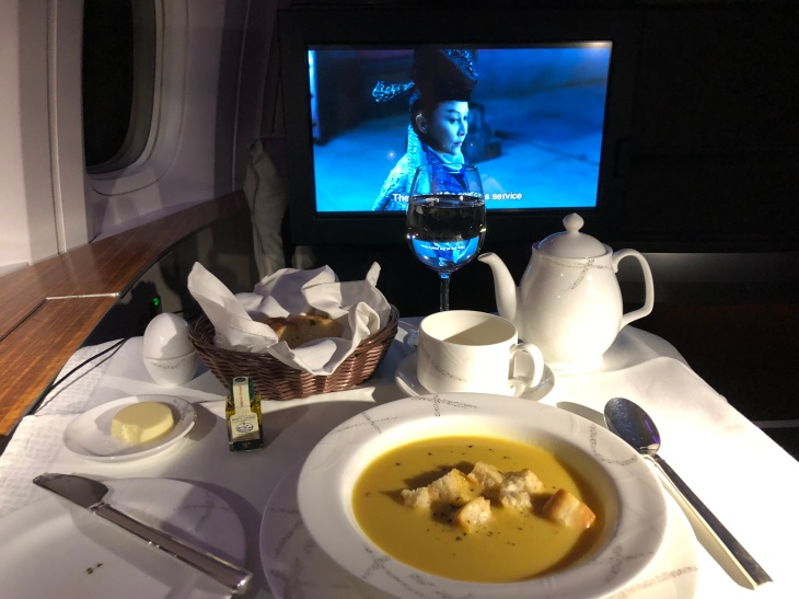 Cathay Pacific First class 777