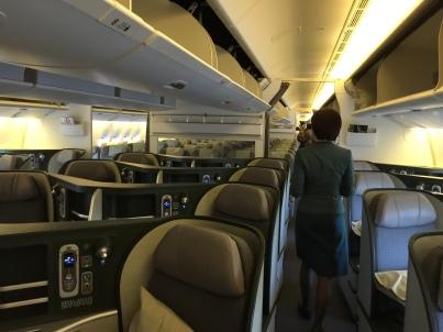 Eva Air Business Class 777