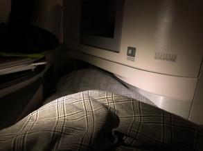 Eva Air Business Class 777 seat