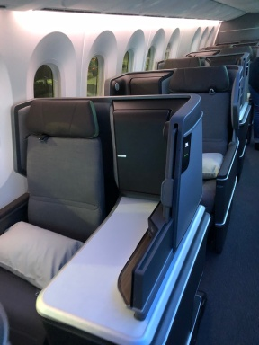 EVA Air 789 business class
