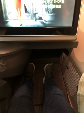 EVA Air 789 business class