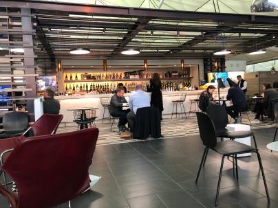 HKG airport lounge