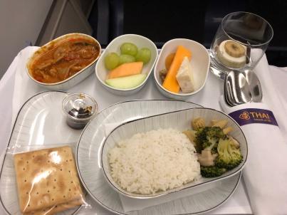 Thai A330 business class