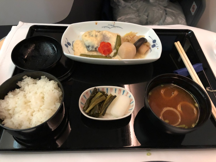 ANA 787-9 business class