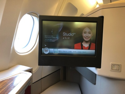 Cathay Dragon first class A330